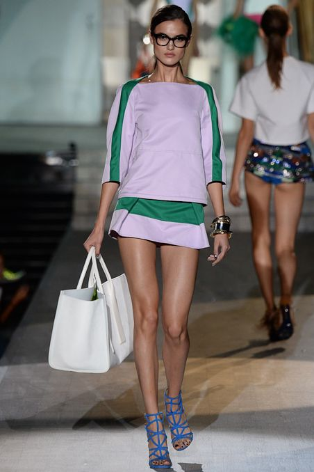 b2fa211a0b Dsquared² Spring 2015 Ready-to-Wear - Collection - Gallery - Look 1 -  Style.com