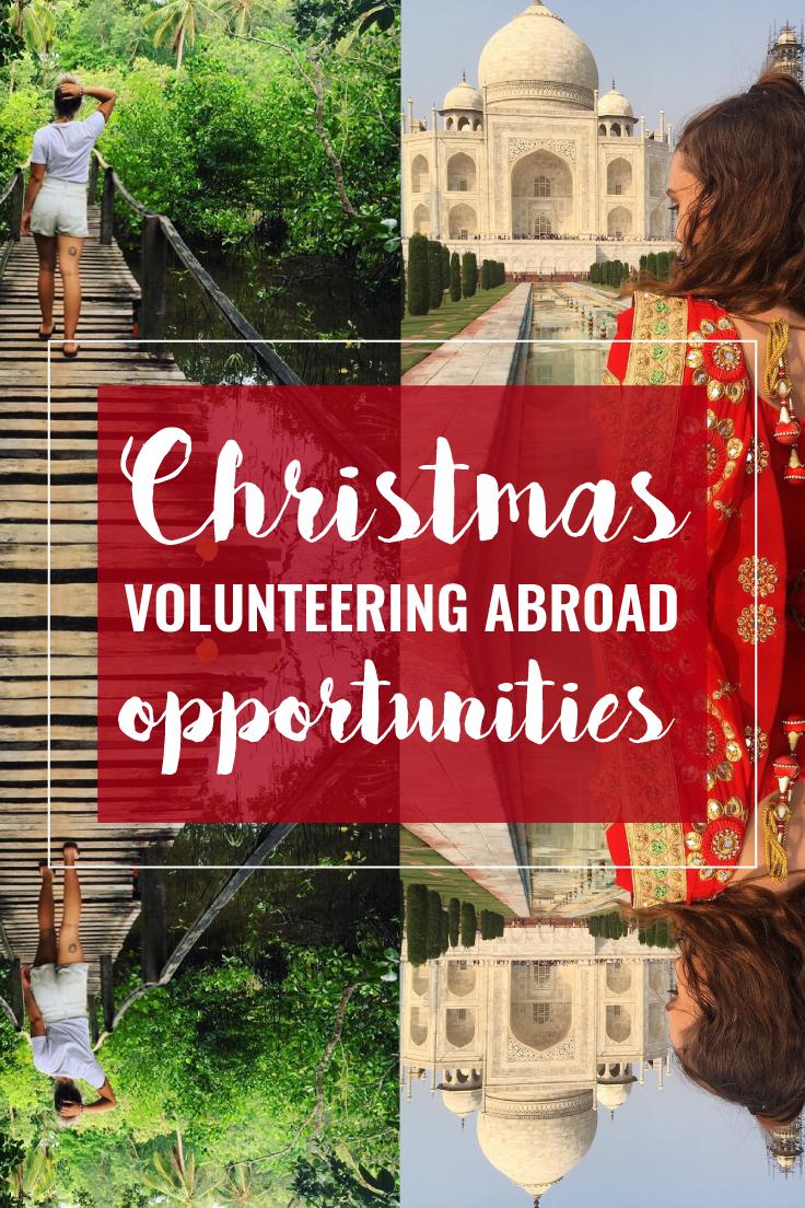 Christmas Volunteering 2020 Near Me Best Christmas Volunteering Opportunities Abroad in 2020