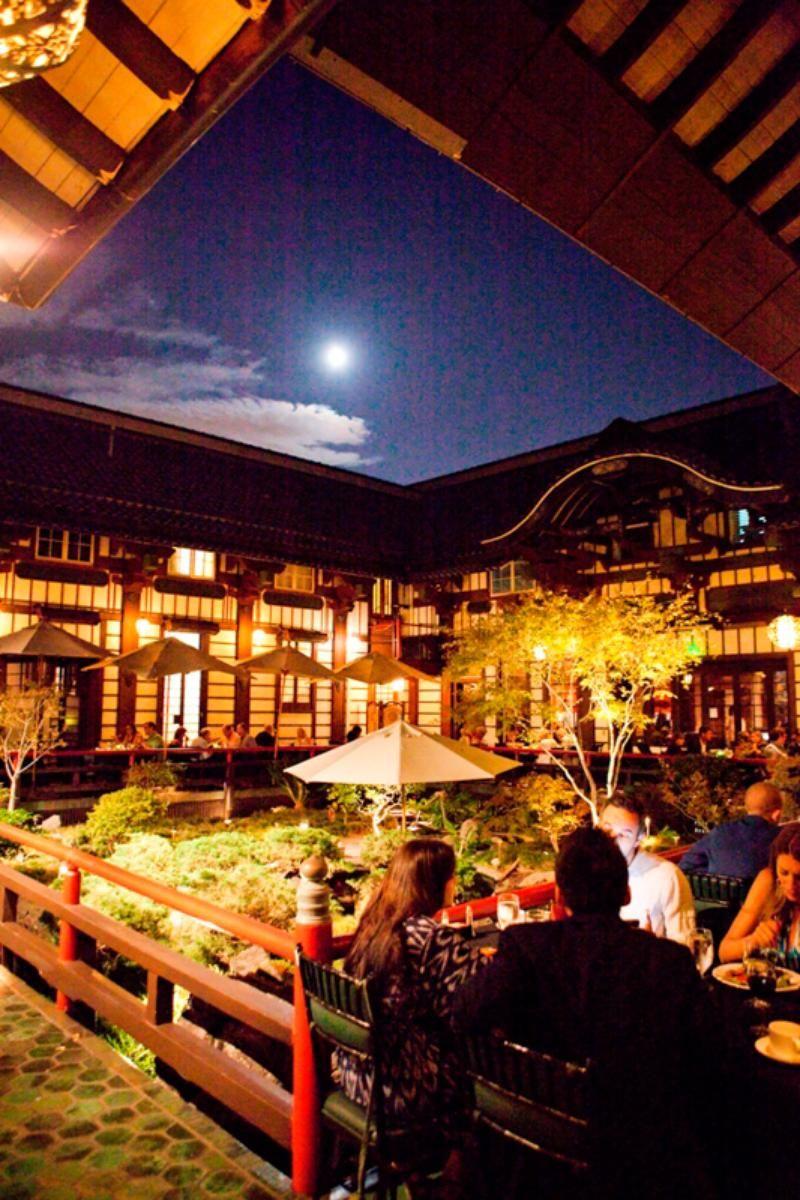 Yamashiro Hollywood Restaurant Los Angeles California United States