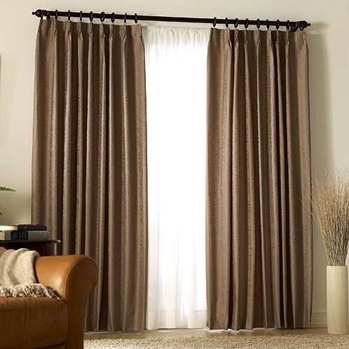 Two Layers Of Drapes For Sliding Doors Interior Design Ideas