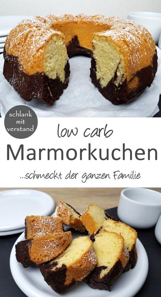 low carb Marmorkuchen #süßesbacken