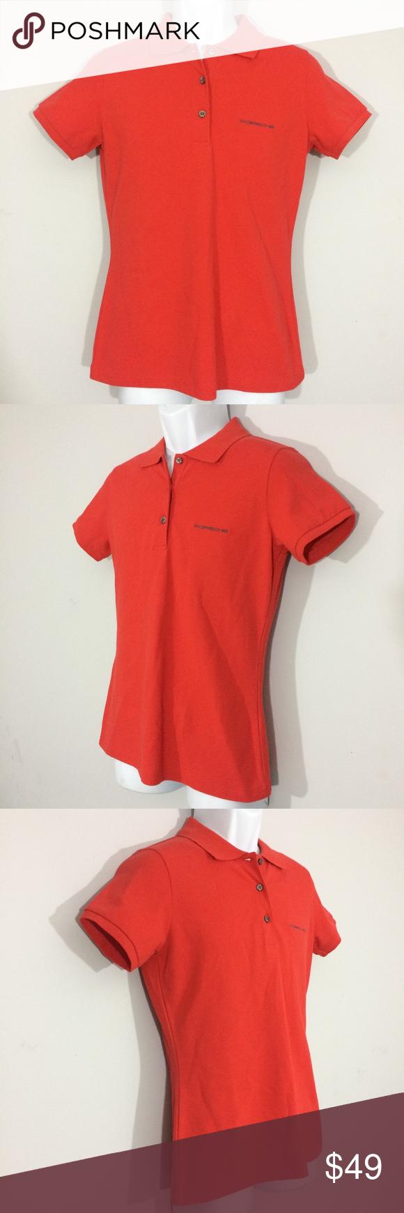 72c8b6d45 Porsche Design Driver's Selection Mens Small Polo Porsche Design Driver's  Selection Mens Small Red Polo Short Sleeve Golf Rugby Shirt Cotton Blend  Clean, ...