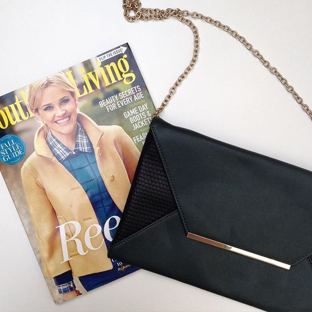 Lots of love from @southernlivingmag this month!  Be sure to check out their Fall style guide!  #povertyflats #fallfashion