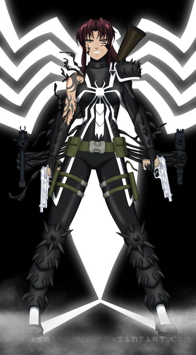 Agent Venom Revy by AtlasMaximus   Crossovers & Mash-Ups   Black