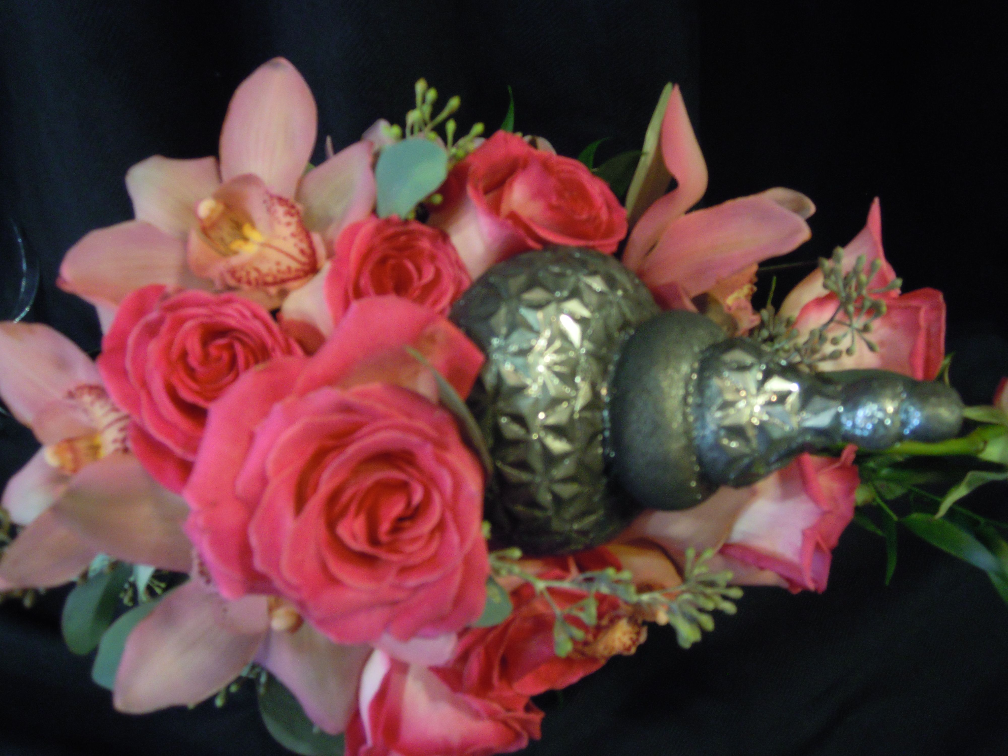 Floral scepter for our 2011 wedding show