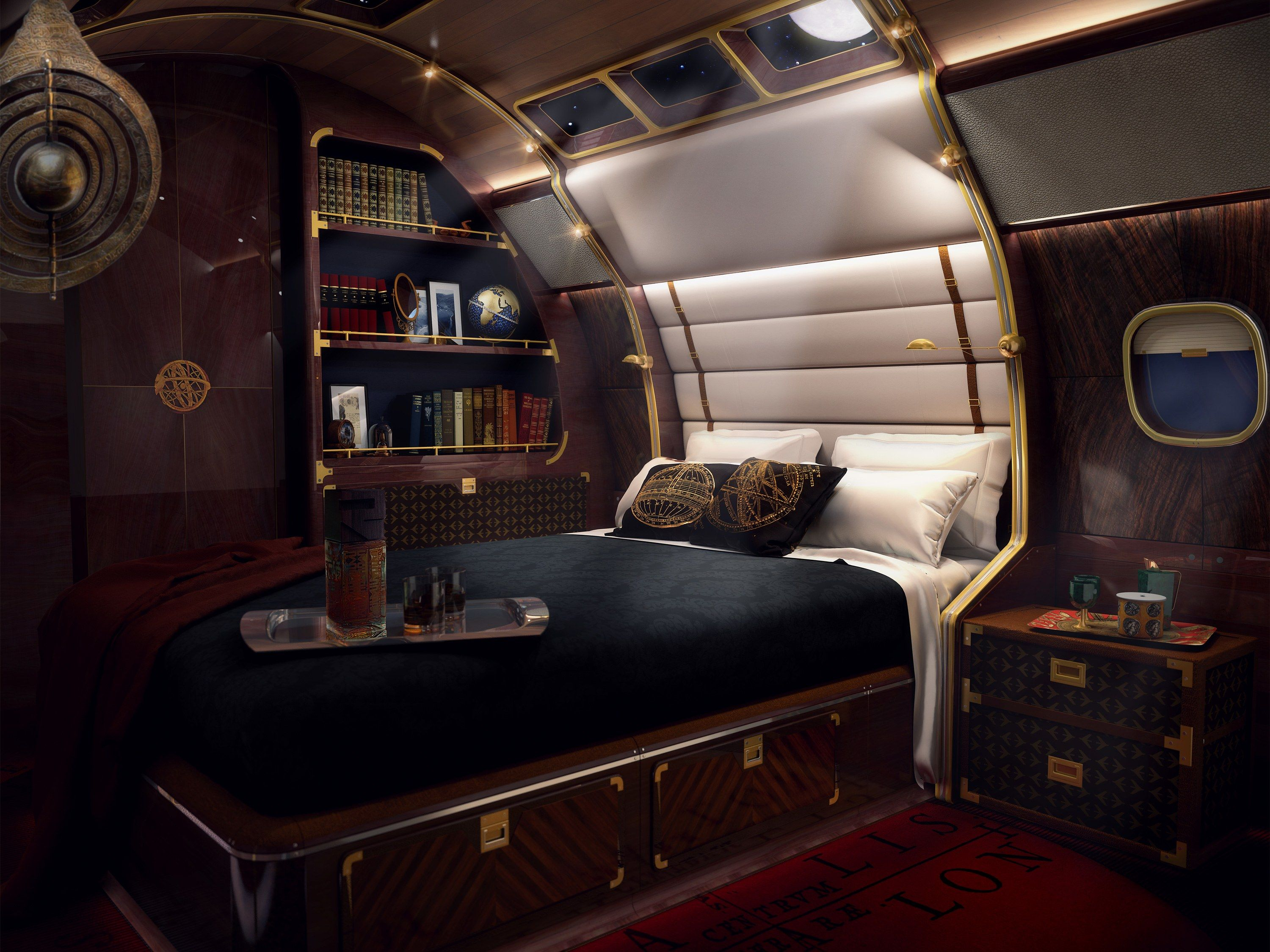 Private Jet Designs Of The Super Rich