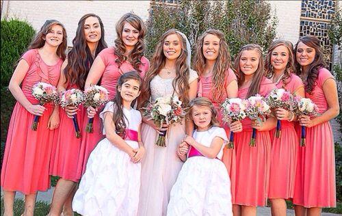 Jessa And Ben S Wedding Jessa Duggar Wedding Duggar Wedding Duggar Girls