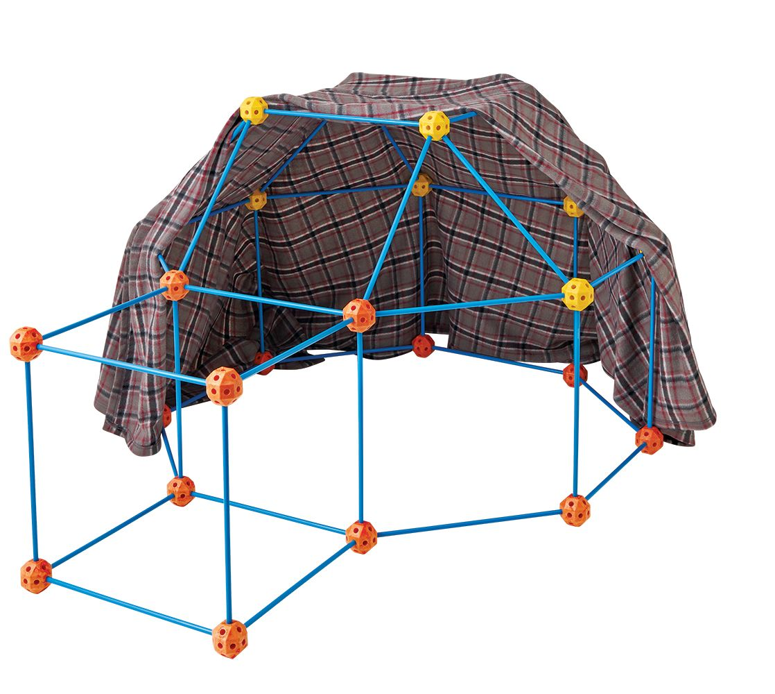 Discovery Kids Build & Play Fort / Fort à construire Discovery Kids #Toys #ChristmasGifts