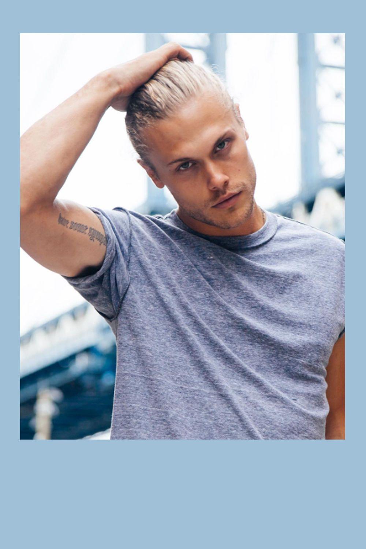 Blondes männermodel