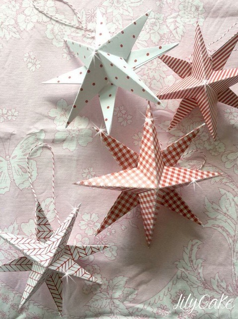 Your Complete Guide To Making Danish Christmas Stars Paper Christmas Decorations Scandinavian Christmas Diy Christmas Star Crafts