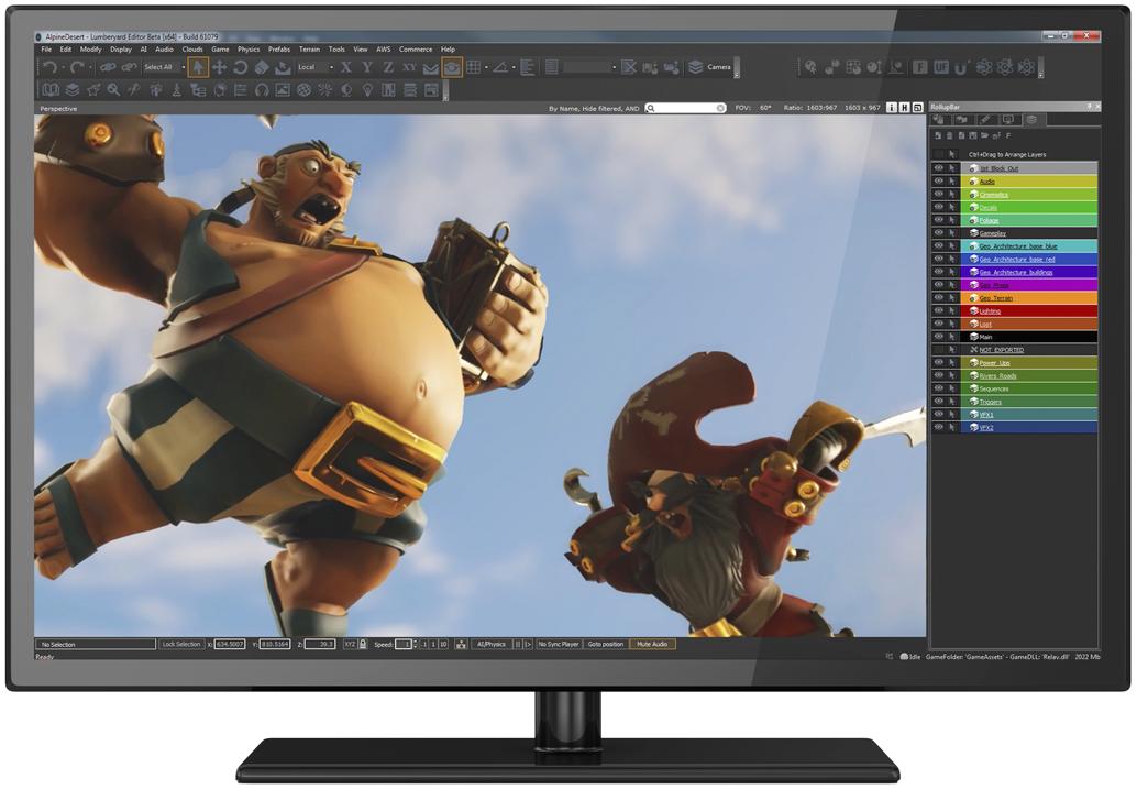 Lumberyard Editor Game engine, Game developer jobs