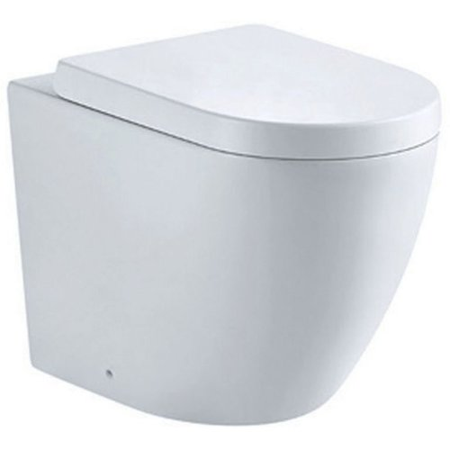Brilliant Ulysses Back To Wall Toilet With Soft Close Seat Belfry Creativecarmelina Interior Chair Design Creativecarmelinacom