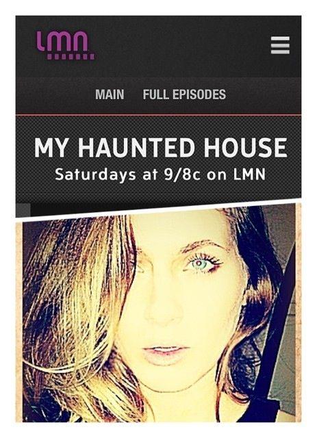 Jenn Gulotta Lifetime Movie Network My Haunted House Lifetime Movies Network Lifetime Movies Haunted House