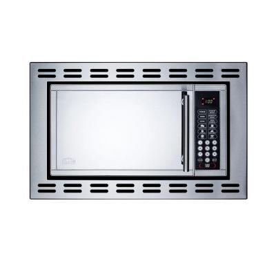 Built In Microwave Stainless Steel