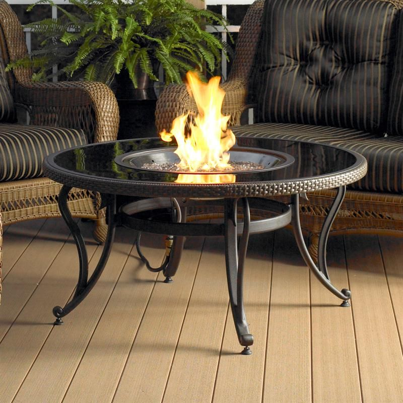 fire pit for outdoor living room | Fire pit table, Glass ... on Living Room Fire Pit id=24348