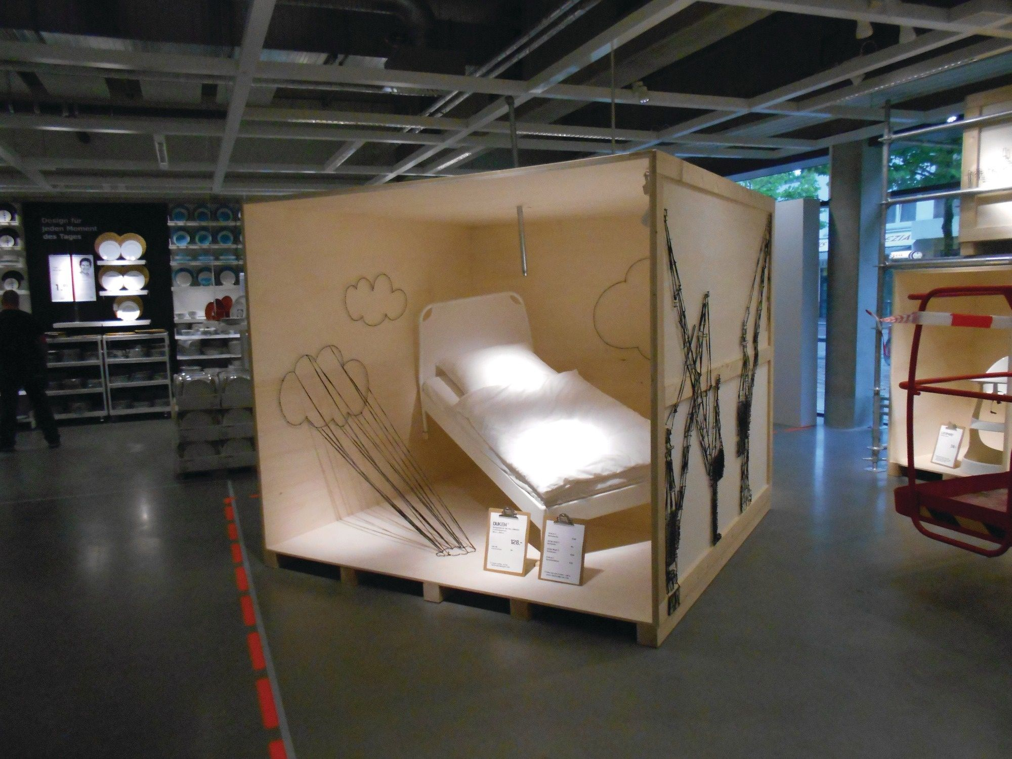 Pictured Is A Display Of The Ikea Citystore In Hamburg