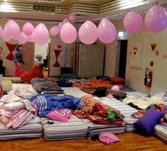 Slumber Party Decoration Ideas