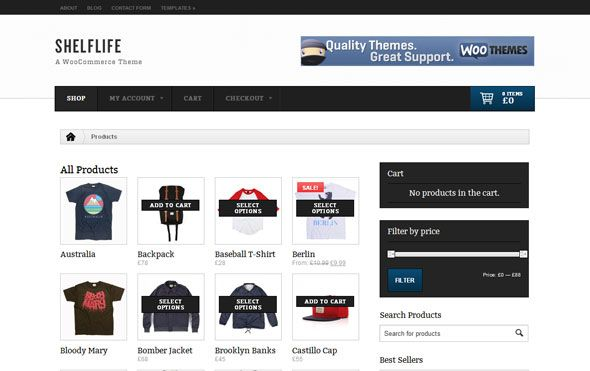 Woothemes Shelflife | Wordpress WooThemes | Pinterest | Wordpress
