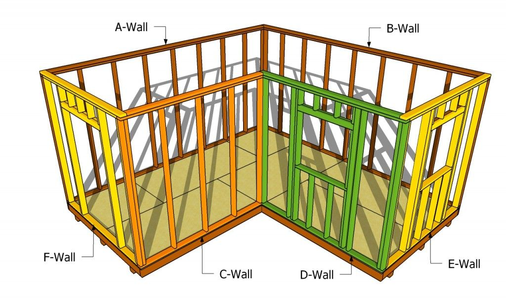 How to build a workshop howtospecialist how to build L shaped building