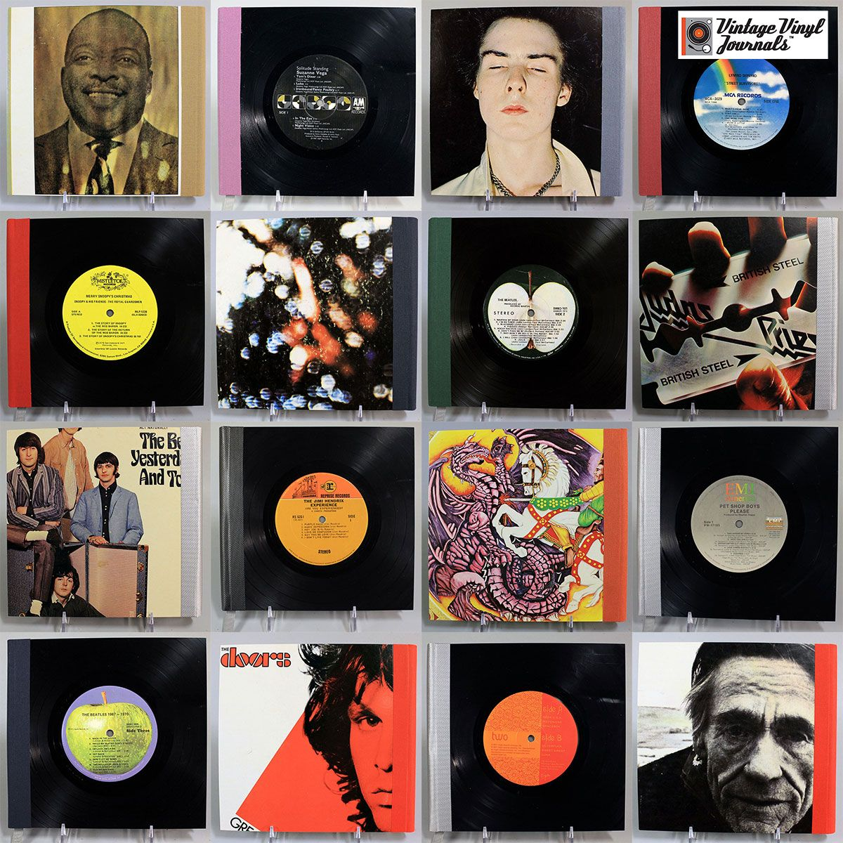 A Collage Of Our Varied Inventory Vinyl Collectors Vinyl Cards