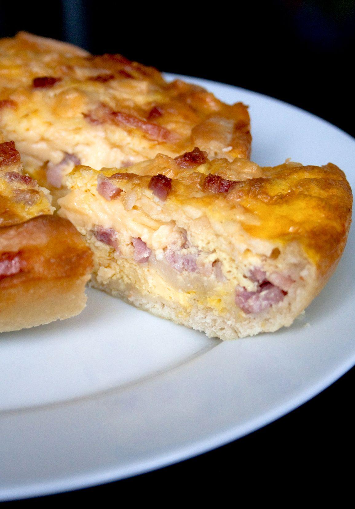En gastronom a una quiche es un tipo de tarta salada for Tipos de comida francesa