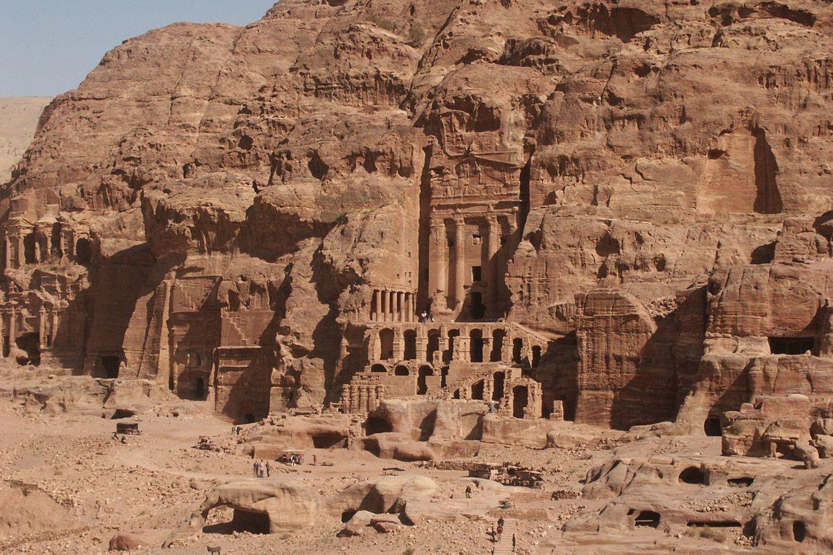 Petra Main City Stone City