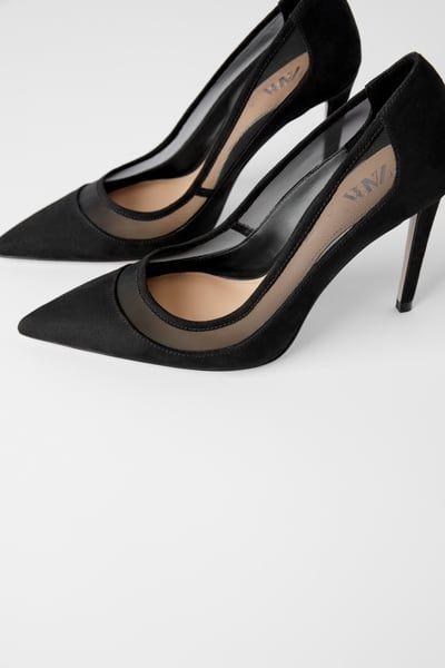 Mesh heels in 2020   Mesh heels, Heels