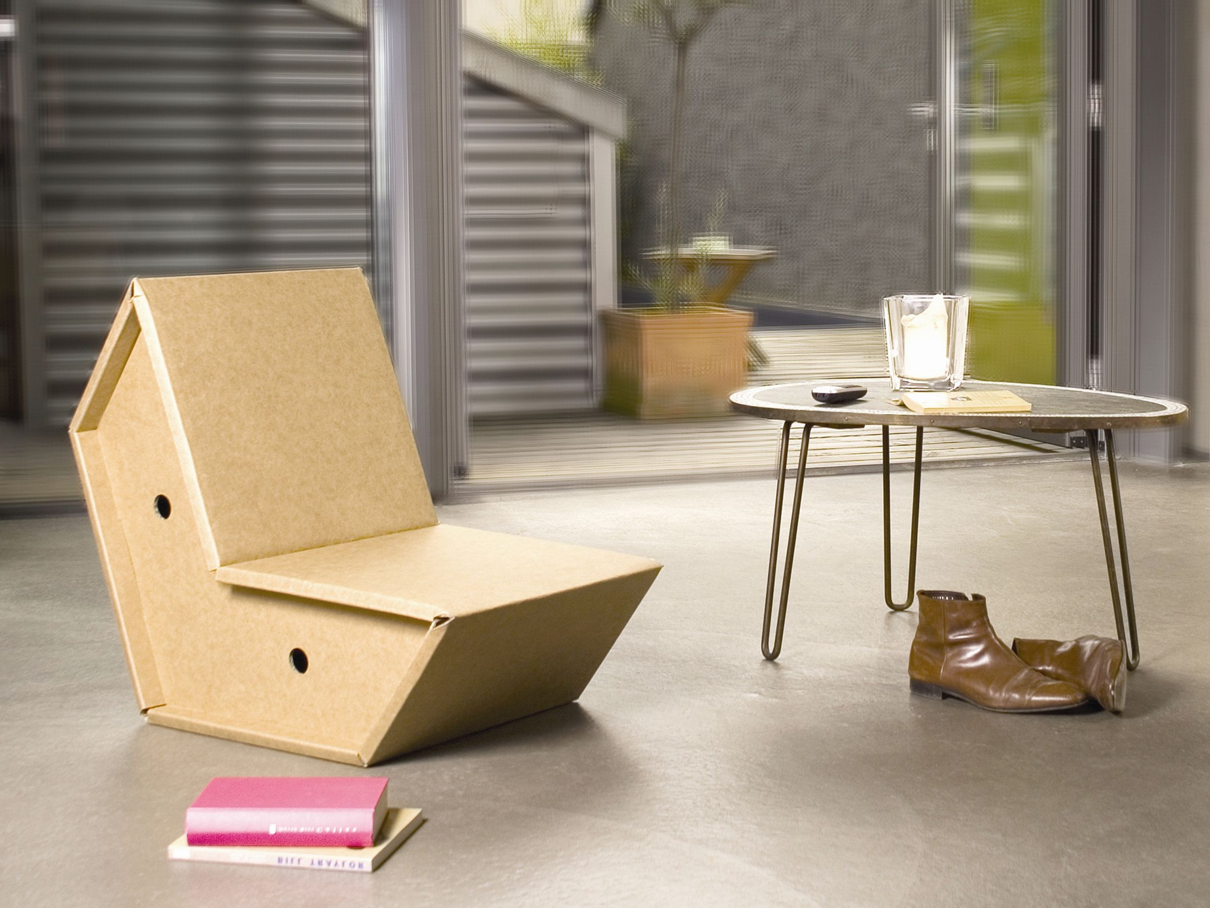 Chaise En Carton Otto Pulpo 70 Cardboard Furniture Cardboard Chair Furniture