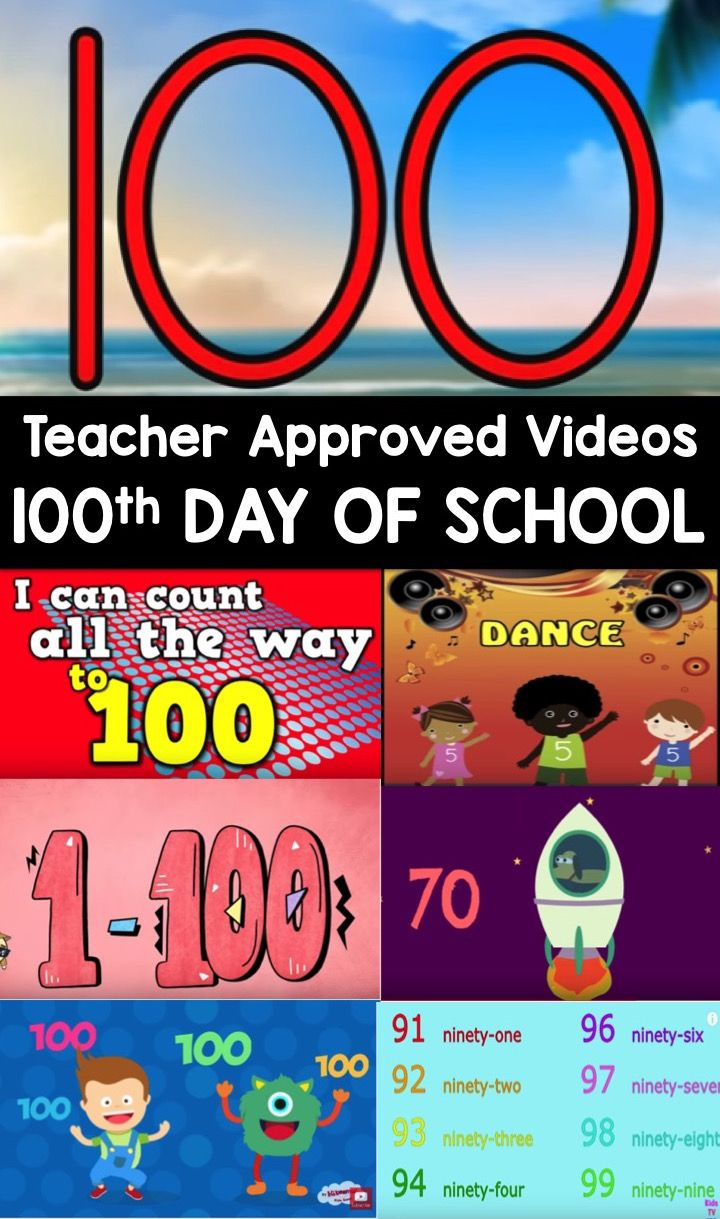 100th Day Videos With Images 100 Days Of School 100th Day