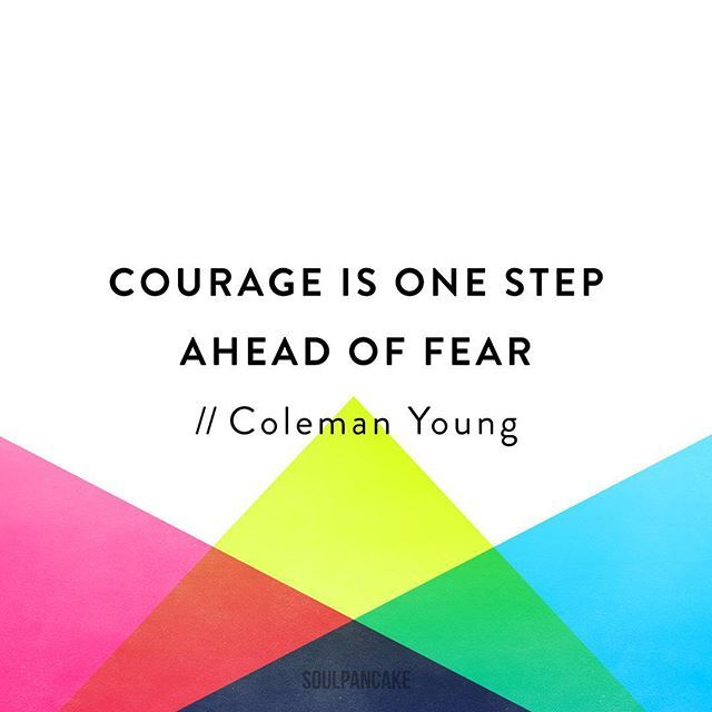Do you have a friend who has been a courageous role model for you? Tag them!
