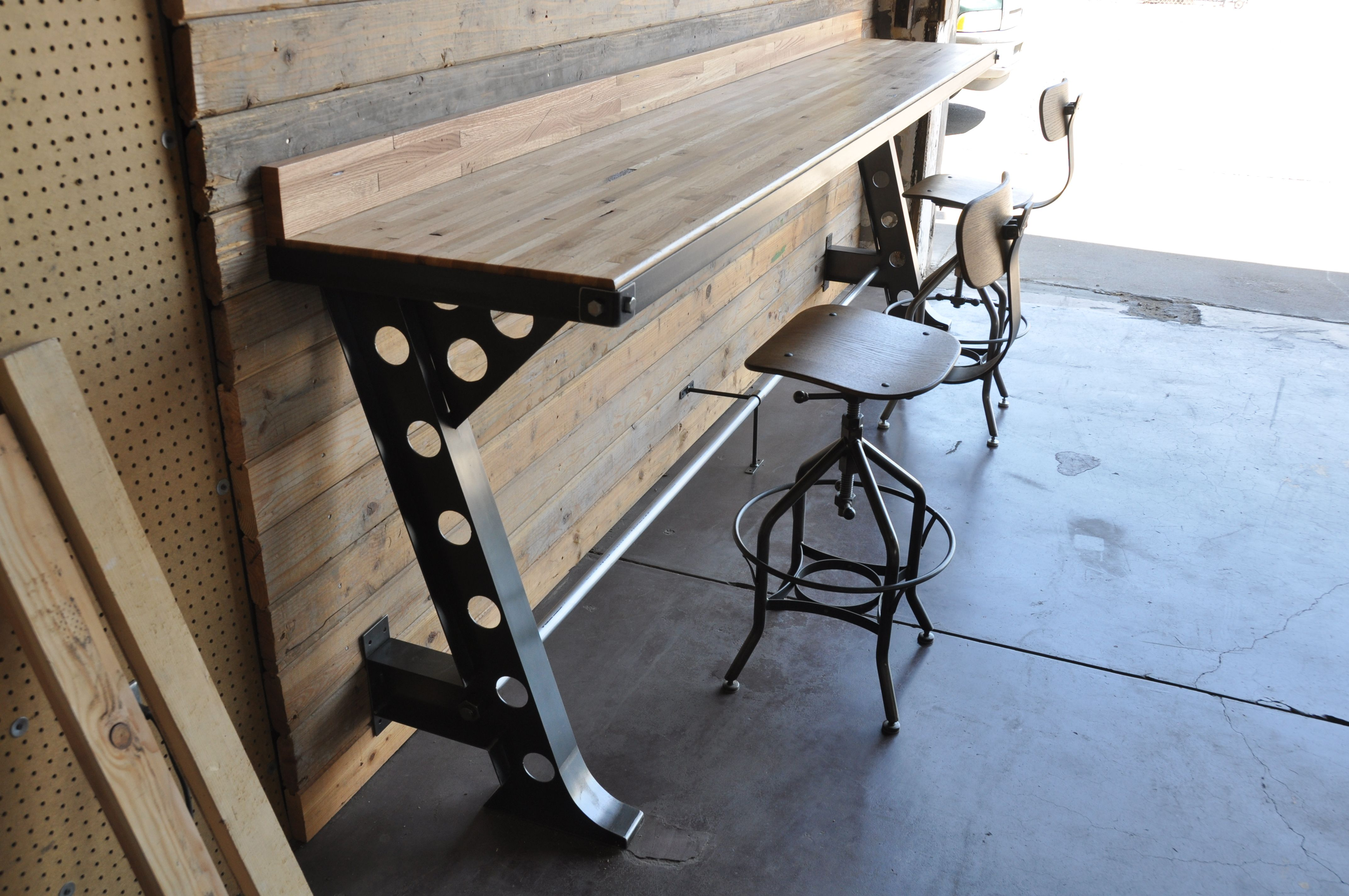 Half A Frame Bar by Vintage Industrial Furniture   Creative ...