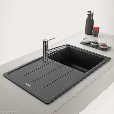 Fregaderos de cocina Franke | Basis 611-78 Grafito | COCINAS ...