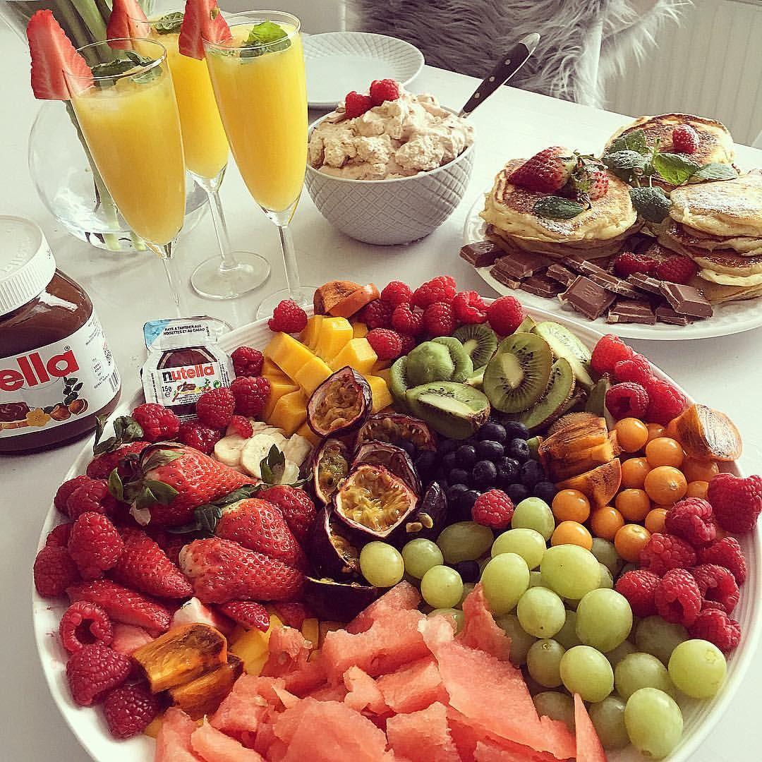 2 179 Likes 30 Comments Gabriella Joss Gabriellajoss On Instagram Mysig Brunch Med Basta Tjejerna Och Barnen H Food Healthy Recipes Breakfast Plate