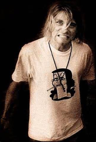 b0ecfcf5a Kurt's Natasha tee. So damn adorable! | Kurt | Kurt Cobain, Nirvana ...