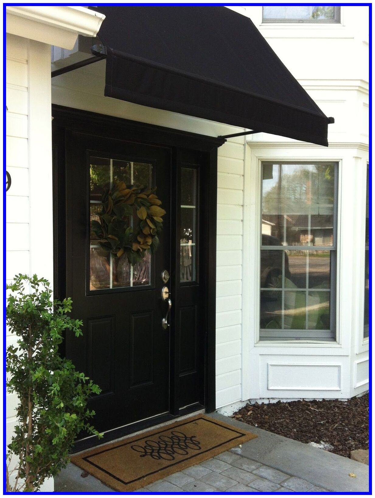 58 Reference Of Front Door Awning Modern In 2020 Awning Over Door Front Door Awning Modern Front Door