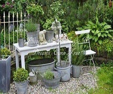 Vintage Garden Decor Creative Ideas Flowers for my future garden