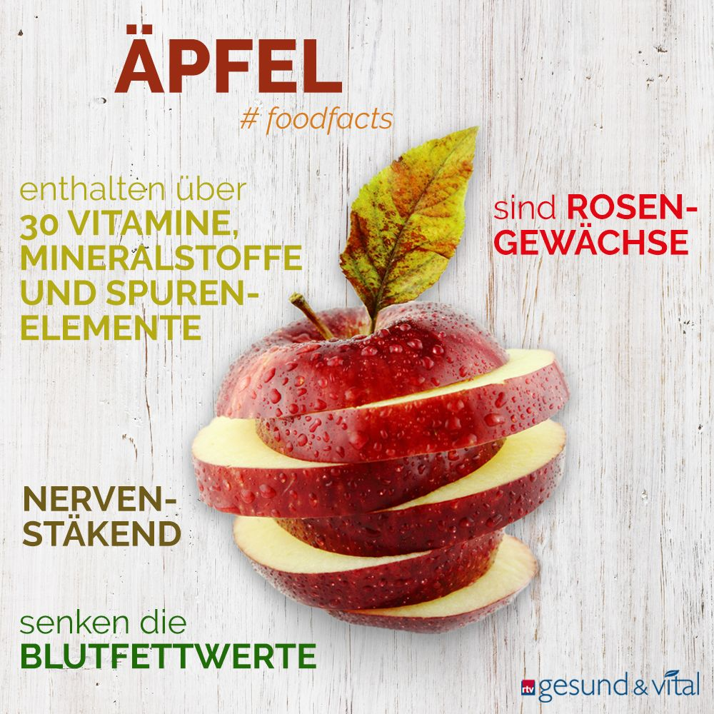 Photo of Vitamin bomb to bite: what makes apples healthy
