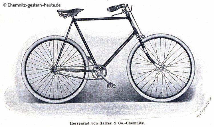 Fahrrader Von Salzer Chemnitz Chemnitz Gestern Heute De