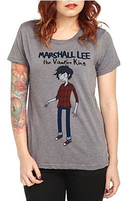 Marshall Lee the Vampire King and ya I'm getting that shirt woot woot