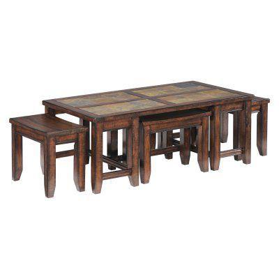 Magnussen Allister Wood Rectangular Cocktail Table Wood