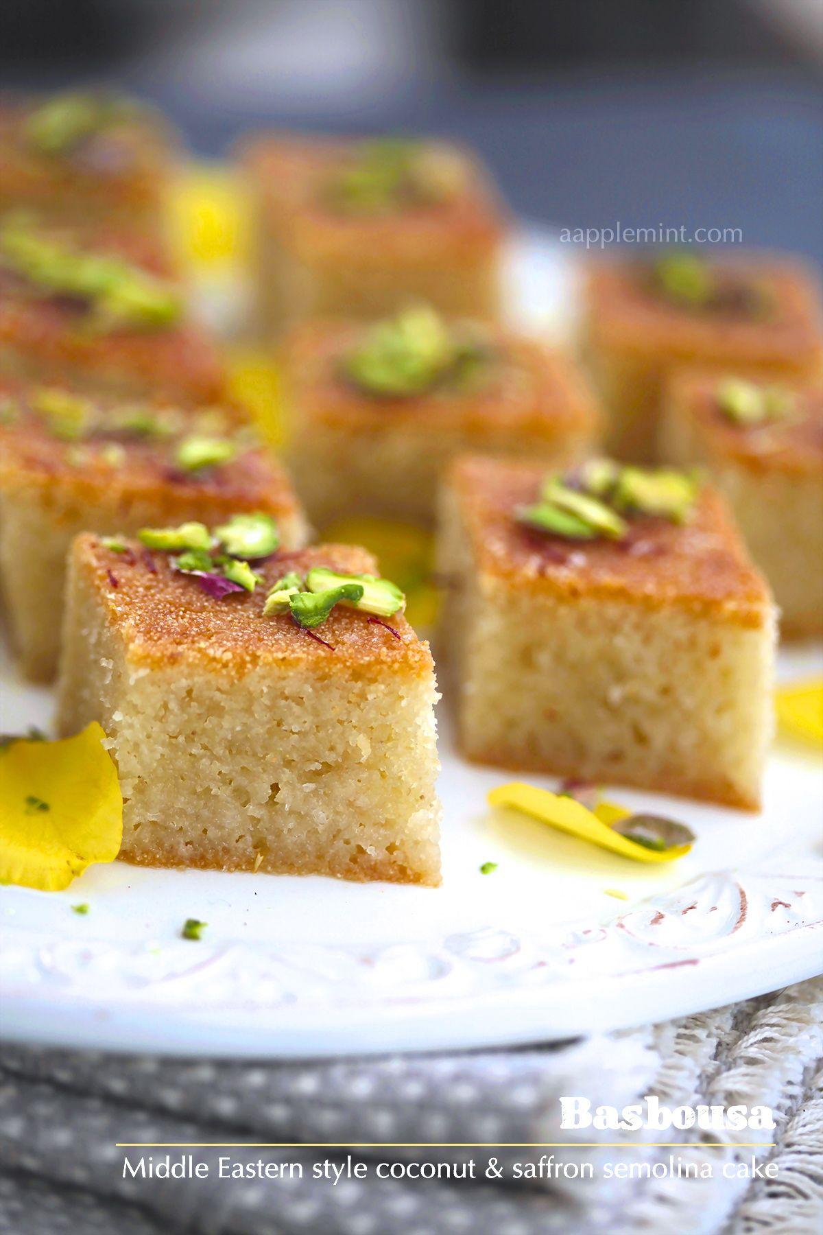 Saffron semolina cake for ramadan ramadandeen mosques saffron semolina cake for ramadan forumfinder Gallery