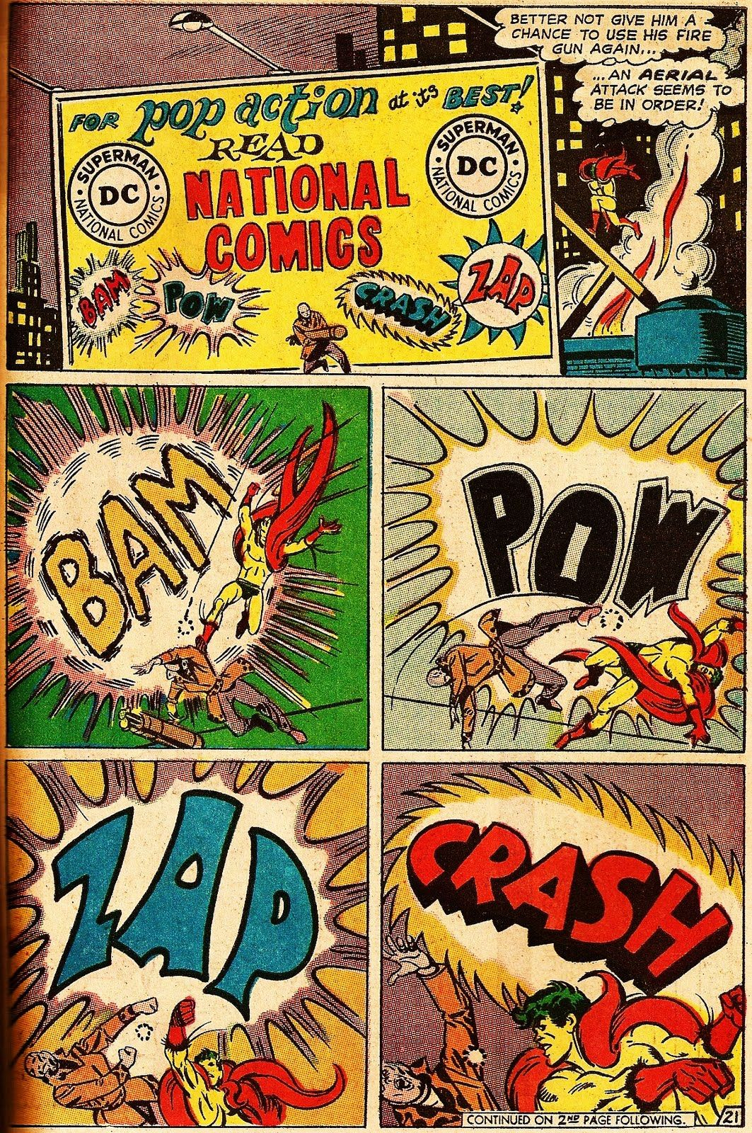 Classic Comic Book Words