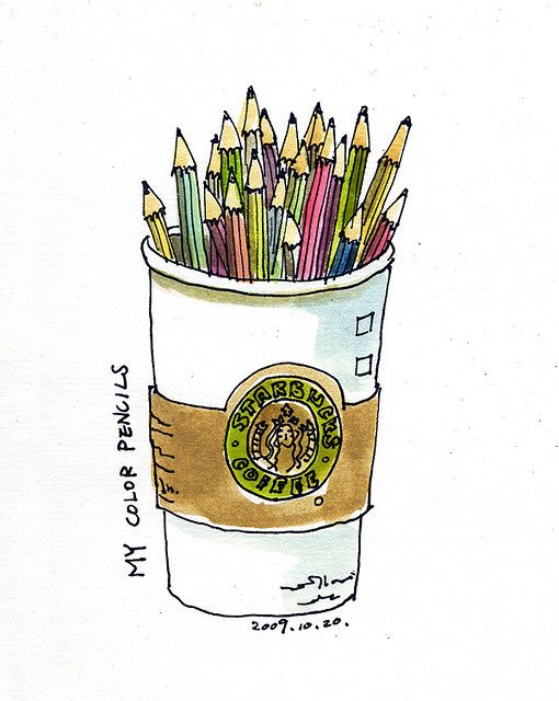 Color Pencils 彩色鉛筆的家 Color Pencil Art Sketch Journal