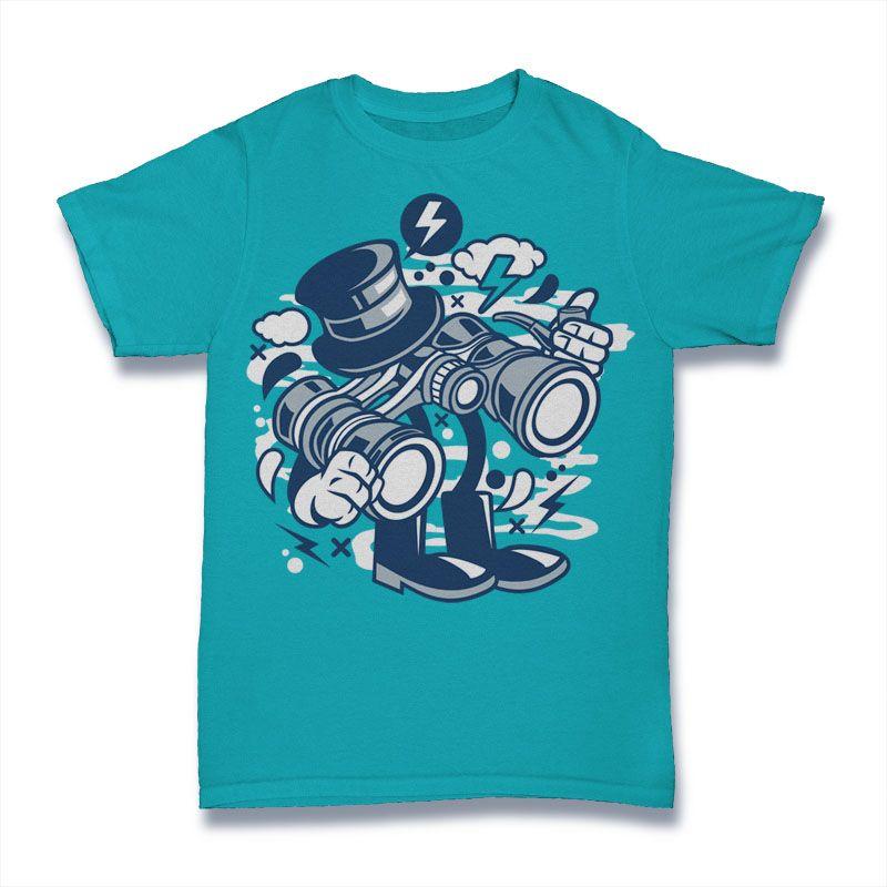 Download Binocular Graphic T Shirt Design Buy T Shirt Designs Tshirt Designs Shirt Designs Design