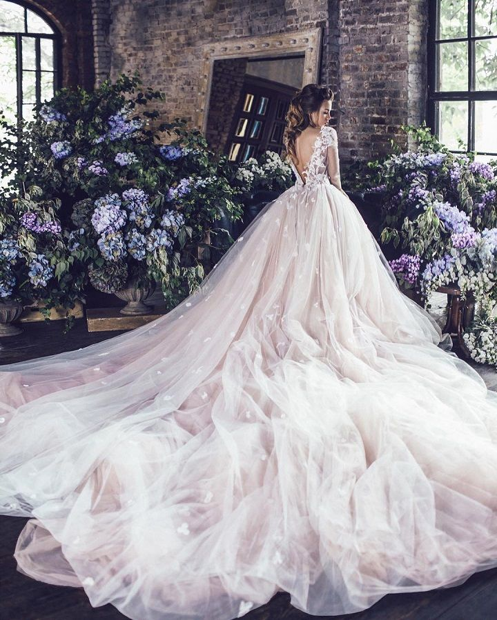 Fairy Tale Wedding Dress For The Disney-Obsessed Bride | #fairytale #Wedding #weddingdress