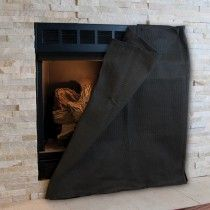 Magnetic Fireplace Blocker Small Fireplace Fireplace Cover