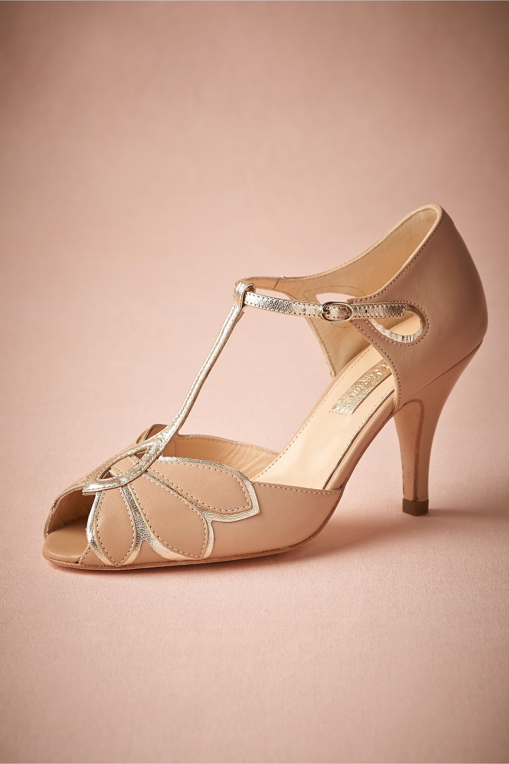 243cbe8c400 Mimosa T-Straps in Bride Bridal Shoes at BHLDN