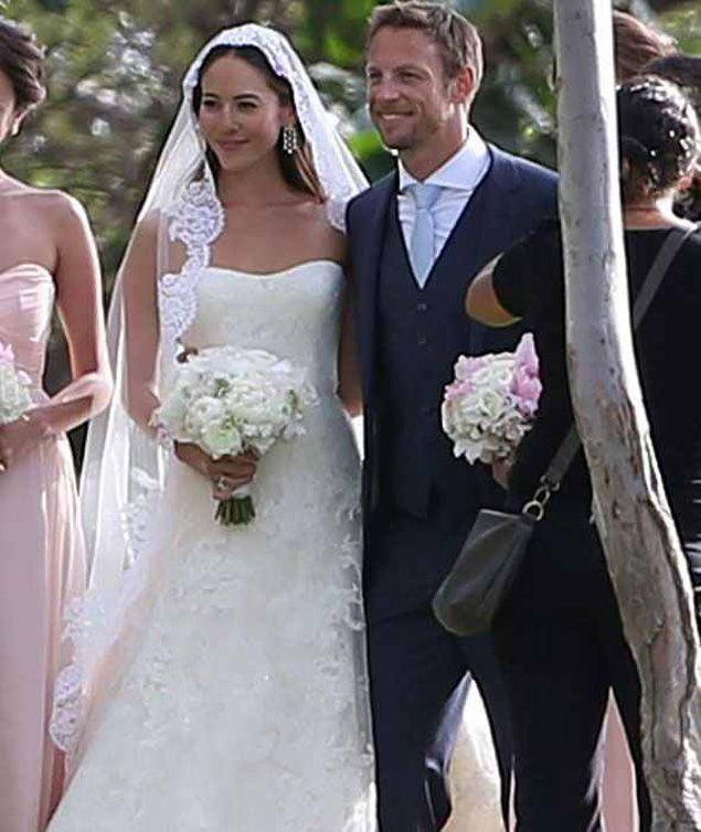 #Jenson-Button-Jessica-Michibata-Wedding