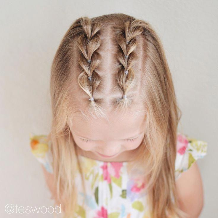 Косички на короткие волосы детям картинки