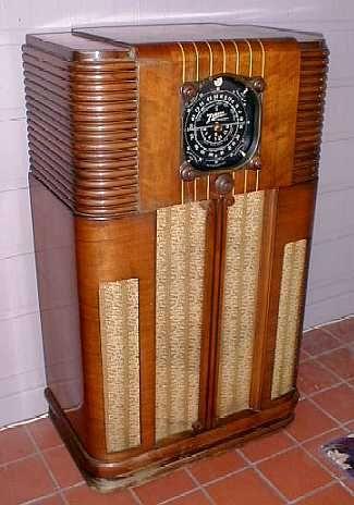 1937 Zenith Radio Old Radios And Pinterest Radios